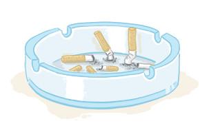 aschenbecher raucherentwöhnung hypnose