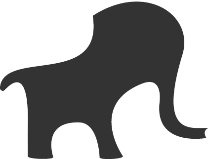 Illustration Elefant Icon HypnosLingua