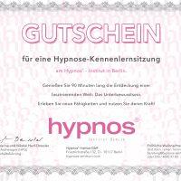 Gutschein Hypnose-Kennenlernsitzung