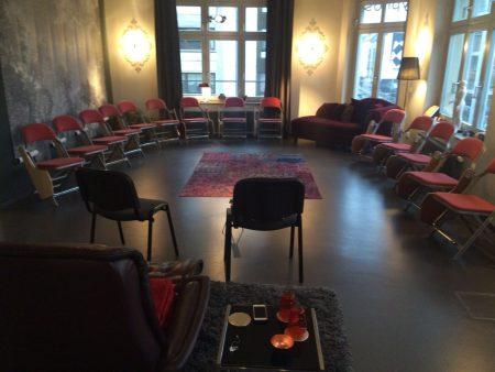 Seminarraum Hypnos-Institut Berlin