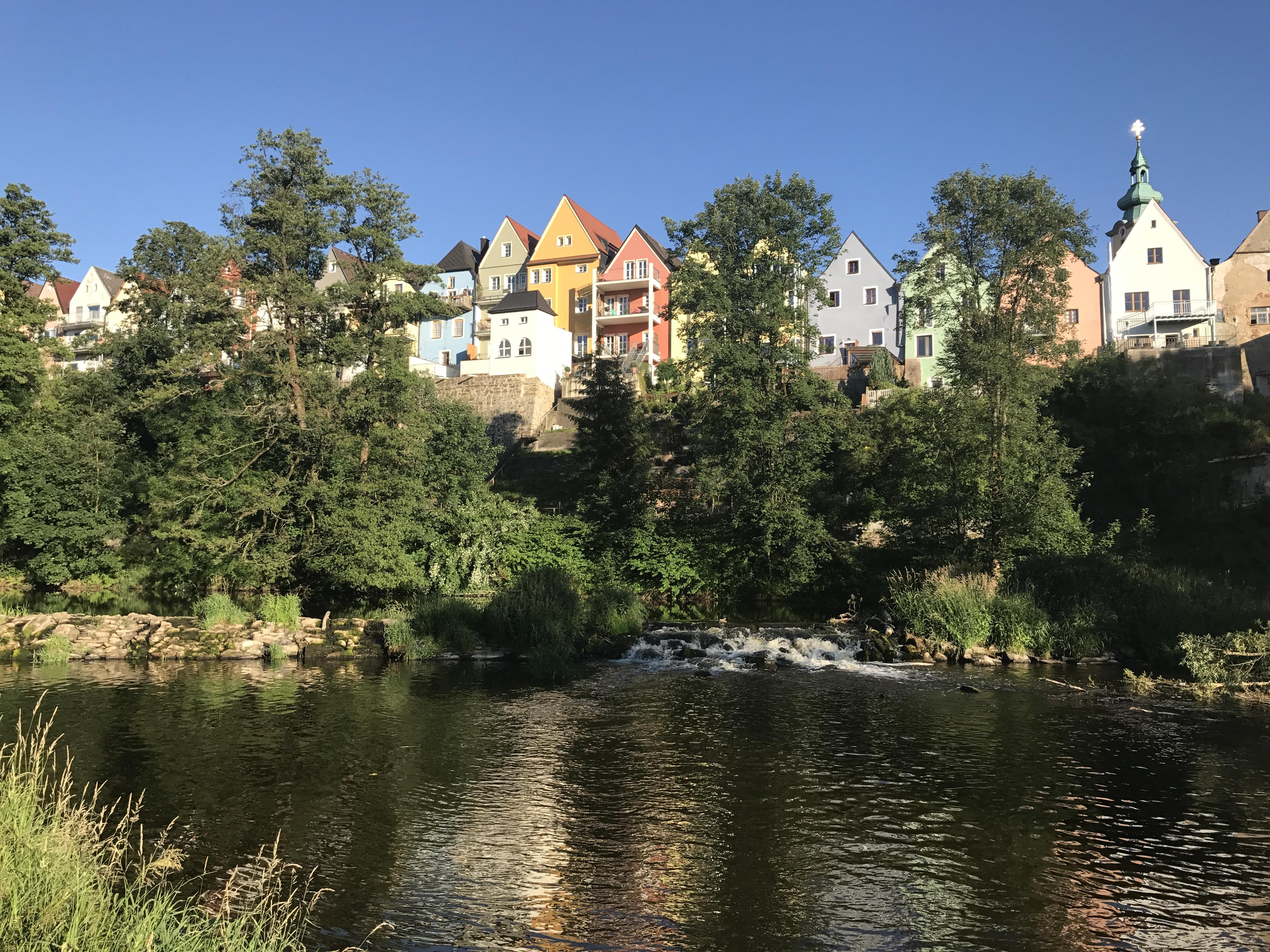 Stadtansicht Neustadt/Waldnaab