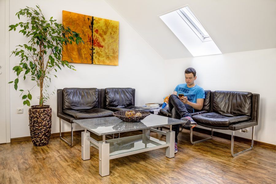 Warteraum Hypnosepraxis Neustadt an der Waldnaab